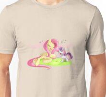 Fluttershy & Sweetie Belle Singing Unisex T-Shirt