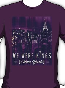 We Were Kings Purple T-Shirt