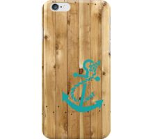 Anchor Crate iPhone Case/Skin
