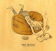Tea Break by Nikita Horridge