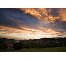 Cumulonimbus Sunset Photographic Print