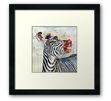 More Than Just Black and White Framed Print