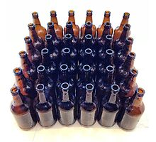 Beer Bottles - Colour Photographic Print