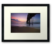 Dawn on the Outer Banks Framed Print