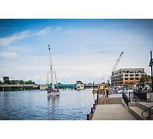 Local Tall ships docks Photographic Print