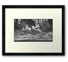 ©HCS Shining Landing In Monochrome Framed Print
