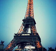 Eiffel at Night by identit3a