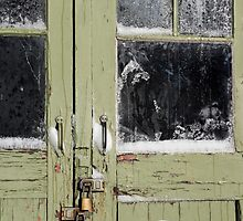 green door by Anne Scantlebury