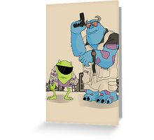 The Big Wazowski Greeting Card