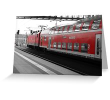 berlin train station Greeting Card