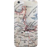 Cartography / boston iPhone Case/Skin