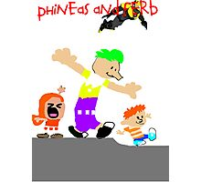 Phineas and Ferb Photographic Print