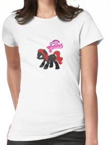 My Little Venger: Black Widow Womens Fitted T-Shirt