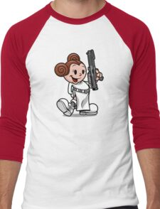 Vintage Leia Men's Baseball ¾ T-Shirt
