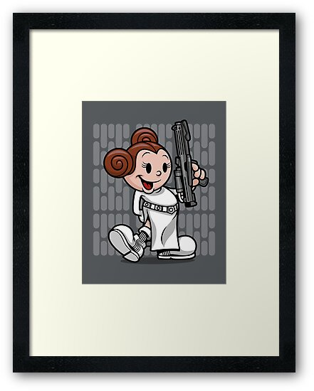 Vintage Leia by harebrained