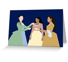 Schuyler Sisters Greeting Card