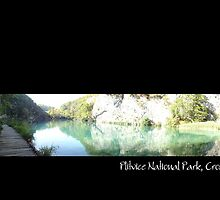 plitvice national park by maydaze