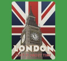 London - Isn't It About Time Kids Tee
