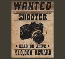 Shooter Wanted by David Brandon