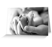 Precious Feet Greeting Card