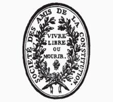 Societe des amis de la constitution sticker by cimourdain