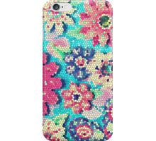 Retro flowers iPhone Case/Skin
