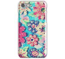 Retro flowers iPhone Case/Skin