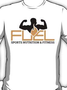 FUEL Logo - Orange & Black T-Shirt