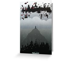 Bioshock- 2 worlds Greeting Card