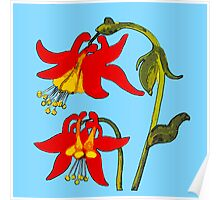 Flower Three Poster