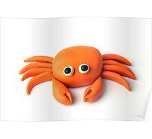 Crab  Beach Buddy 01 Poster