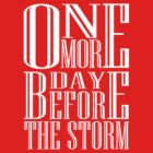 One More Day Before The Storm - Dark by PhantomKat813