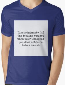 Percy Jackson Disappointment  Mens V-Neck T-Shirt