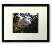 A Window in the Trees Framed Print