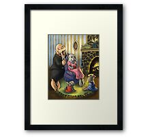 Seals and Walruses Framed Print