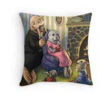 Seals and Walruses Throw Pillow