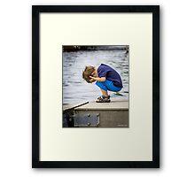 The Big Splash Framed Print