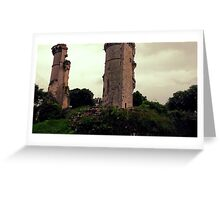 11th Century Ancient Castle Greeting Card