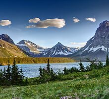 Two Medicine Lake, Glacier National Park by DArthurBrown