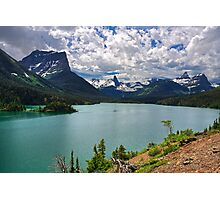 St. Mary Lake From Sun Point, Glacier National Park Photographic Print