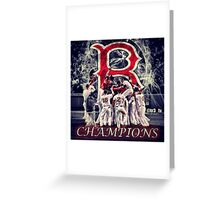 Red Sox Greeting Card