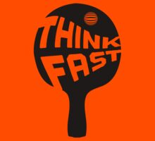 Ping Pong Think Fast Kids Clothes