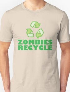 Zombies Recycle T-Shirt