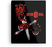 Doctor Maul Metal Print