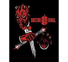 Doctor Maul Photographic Print