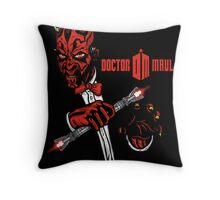 Doctor Maul Throw Pillow