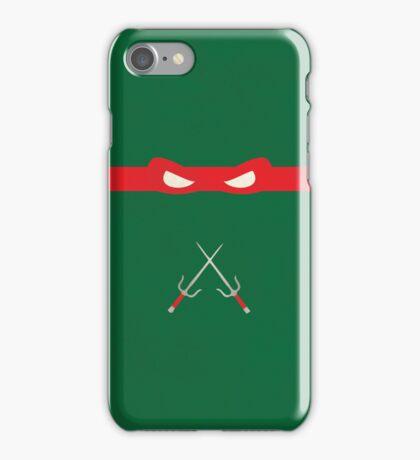 Red Ninja Turtles Raphael iPhone Case/Skin