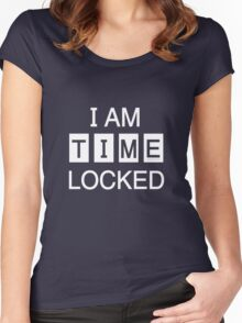Time Locked Women's Fitted Scoop T-Shirt