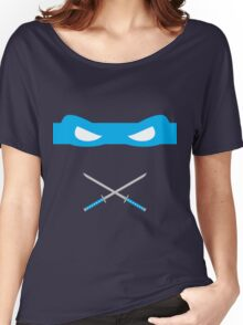 Blue Ninja Turtles Leonardo Women's Relaxed Fit T-Shirt