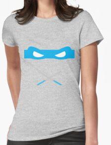 Blue Ninja Turtles Leonardo Womens Fitted T-Shirt
